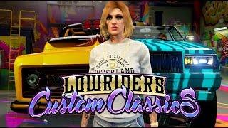 Download GTA 5 ONLINE Lowrider DLC! NEW Slamvan, Custom Donk & MORE! (GTA 5 DLC) Video