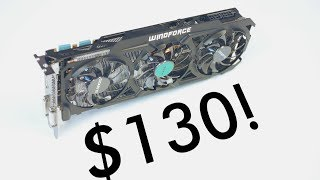 Download A $130 Video Card that's FASTER than the GTX 1050 Ti! Video