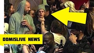 Download Justin Bieber Gets Choked By Post Malone, Odell Beckham Jr Watches Club Fight Video