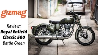 Download Royal Enfield Classic 500 - Battle green review Video