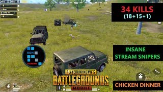 Download [Hindi] PUBG MOBILE | SO MANY CARS GETTING STREAM SNIPED & AMAZING CHICKEN DINNER Video