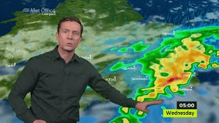 Download Tuesday afternoon forecast 11/07/17 Video