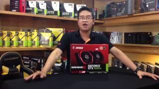 Download Đánh giá VGA MSI GTX 1050ti Gaming X Video