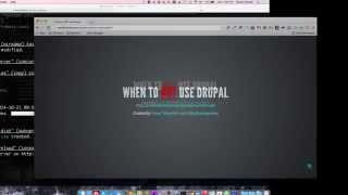 Download When to NOT use Drupal Video