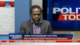 Download Politics Today: PDP Says Internal Crisis Caused Poor Performance Pt. 2 Video