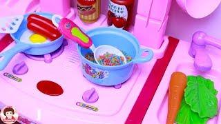 Download ละครสั้น ร้านอาหารตามสั่งเจ๊นุ้ยเปิดแล้วจ้า ร้านอาหารของเหล่าฮีโร่และเจ้าหญิง Cooking Kitchen Toy Video