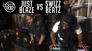 Download Swizz Beatz VS Just Blaze - HOT97 LIVE Video