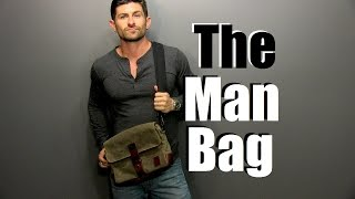 Download The Man Bag | Why Every Guy Needs One | Man Bag 101 Video