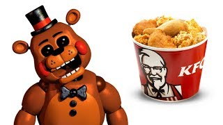 Download FNAF Characters and their favorite FOODS Video