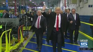 Download President-elect Donald Trump visits Carrier in Indy Video