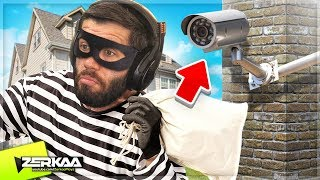 Download BREAKING Into a HOUSE That Has CCTV CAMERAS (Thief Simulator #5) Video