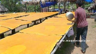 Download Yammy Mango Jelly Making - Mamidi Tandra - Aam Papdi Video