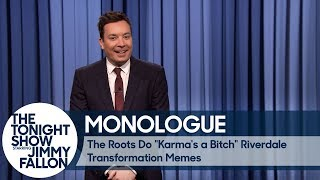 Download The Roots Do ″Karma's a Bitch″ Riverdale Transformation Memes - Monologue Video