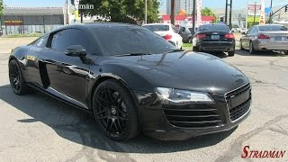 Download Supercar Shopping: Test driving the Audi R8! Video