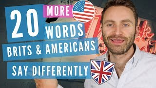 Download 20 MORE Words Brits and Americans Say Differently Video