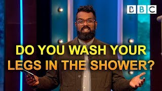 Download Do you wash your legs in the shower? | The Ranganation - BBC Video