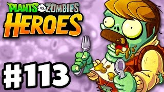 Download Overstuffed Zombie! - Plants vs. Zombies: Heroes - Gameplay Walkthrough Part 113 (iOS, Android) Video