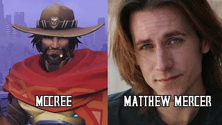 Download Characters and Voice Actors - Overwatch Video
