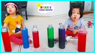 Download Emma and Kate Learn Colors with Elmo Fizzers Surprise Toys!! Video