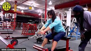 Download Charles Glass and Katka Kyptova (lats and shoulders) Video