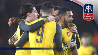 Download Southampton 0-5 Arsenal - Emirates FA Cup 2016/17 (R4) | Official Highlights Video