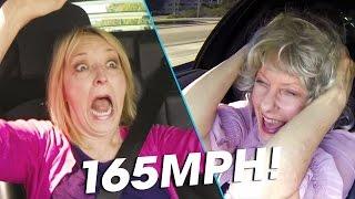 Download Grandmas React to Speeding in a 650HP Lamborghini! | Donut Media Video