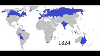 Download Expansion and Decline of European Imperialism: Every Year (1492-2016) Video
