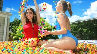 Download 12 Million Gummy Bears In Hot Tub! Video