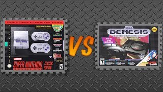 Download SNES Classic Edition vs. Sega Genesis Mini Video