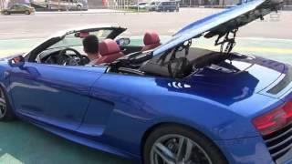 Download 麦浪说车 奥迪R8 Spyder 对比458Spyder 及兰博基尼 Video