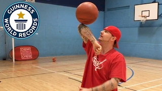 Download Tom ″Conman″ Connors breaks basketball records - Guinness World Records Video