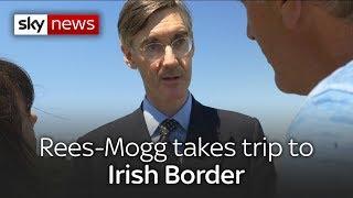 Download Jacob Rees-Mogg visits Irish border Video