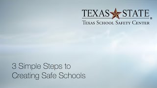 Download 3 Simple Steps to Creating Safe Schools Video