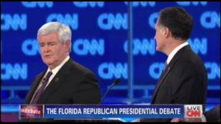 Download Gingrich's ″Gotcha″ Moment Against Romney & Romney's Counter ″Gotcha″ Response Back At Gingrich Video