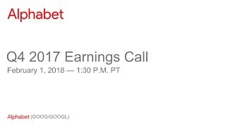Download Alphabet 2017 Q4 Earnings Call Video