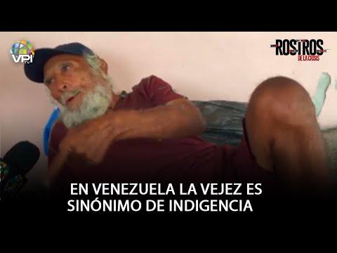 En Venezuela la vejez es sinónimo de indigencia.- Rostros de la Crisis