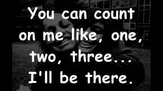 Download Bruno Mars - Count on me lyrics Video