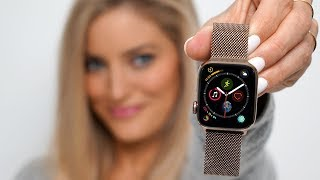 Download Gold Apple Watch Series 4 - Unboxing and review! Video