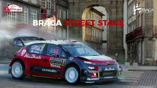 Download WRC Vodafone Rally de Portugal 2017 - Braga Street Stage (Virtual Stage) Video