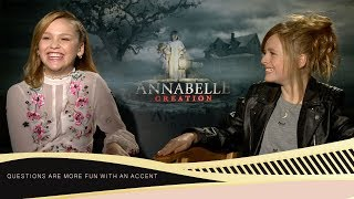 Download Talitha Bateman & Lulu Wilson: ″Would love to be a professional nanny″ Video