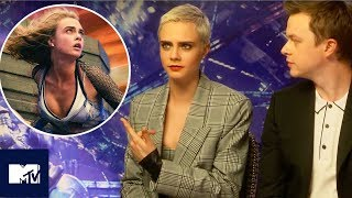 Download Valerian | SFX Behind The Scenes With Cara Delevingne And Dane Dehaan | MTV Movies Video