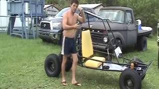 Download Four wheeler converted to go kart Video