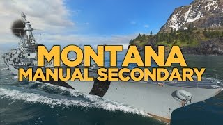 Download World of Warships - Montana Manual Secondary Video