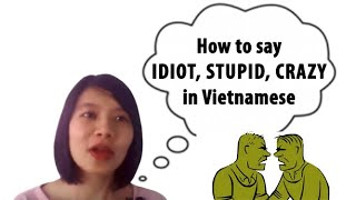 Download Vietnamese Slang and Idioms #6: Insults in Vietnamese Video