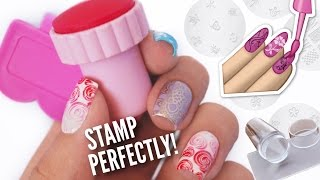 Download Stamp Your Nails Perfectly! | DIY, Hacks, Tips & Tricks For Nail Art Stamping! Video