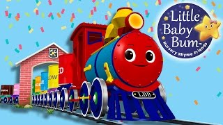Download The Color Train Song | Part 2 | Nursery Rhymes | Original Song By LittleBabyBum! Video