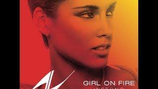 Download Alicia Keys - Girl On Fire (Instrumental) (Lyrics in description) Video