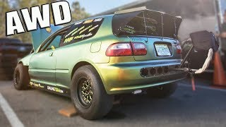 Download They Built an ALL WHEEL DRIVE 1300hp Civic Video