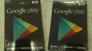 Download Free Google Play Codes - Free Google Play Gift Cards Video