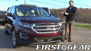 Download First Gear 2017 Ford Edge Titanium - Review and Test Drive Video